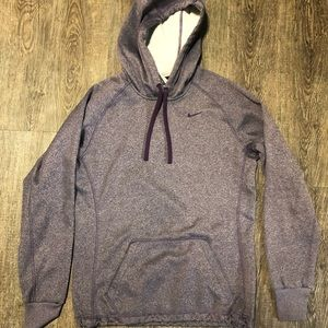 Purple Fleece Lined Nike Hoodie